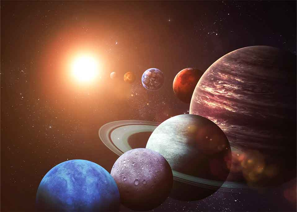 惑星の分類―地球型惑星と木星型惑星・天王星型惑星との違いー