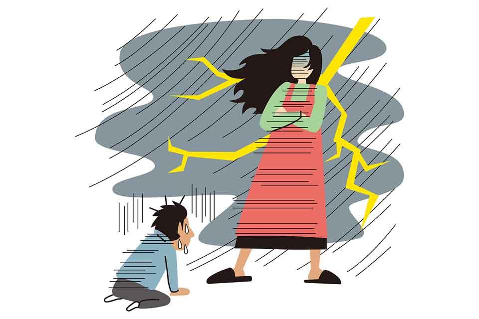 日常会話に潜む妻の地雷を踏む恐怖