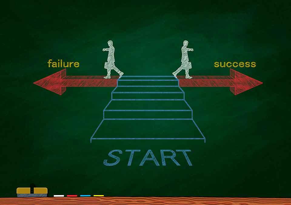 失敗を成功に導く受け取り方