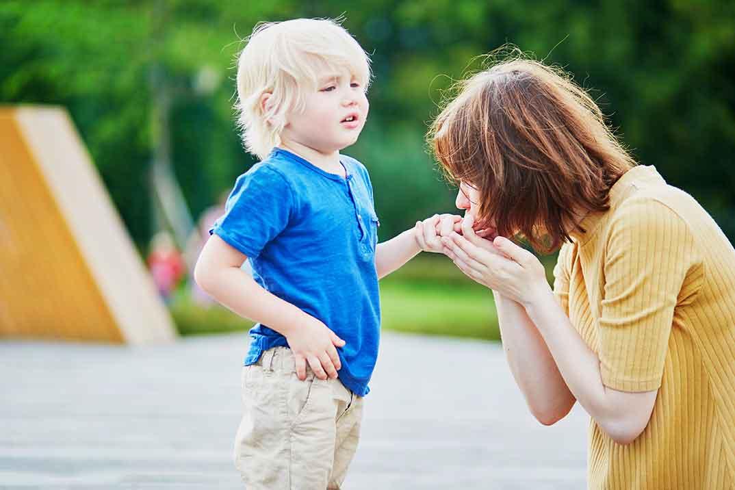 親子の間でよくみられる忖度の光景