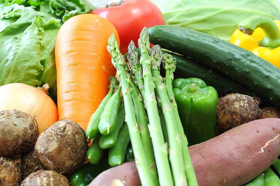 マクロビオティックは食べ物を陰性、陽性で考える
